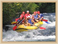 Rzeka Cetina - Rafting