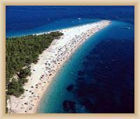 Bol - Plaż Zlatni Rat