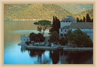 Wyspa Mljet - Klasztor benedyktyński