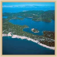 Park narodowy Mljet - Widok całkowity