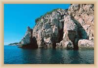 Wyspa Mljet - Wybrzeże