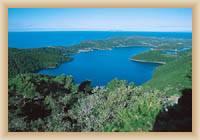 Wyspa Mljet - Jezioro