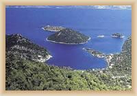 Wyspa Mljet - Prożura