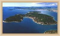 Wyspa Prvicz - Widok całkowity
