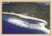 Wyspa Mljet - Saplunara