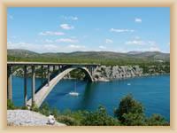 Szibenik - Most przez Krkę